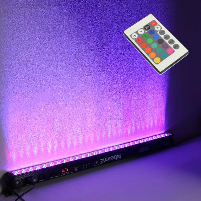 Dhl Rgb 216 Led Bar 1m Wall Washer Effect Dmx Sound Dj