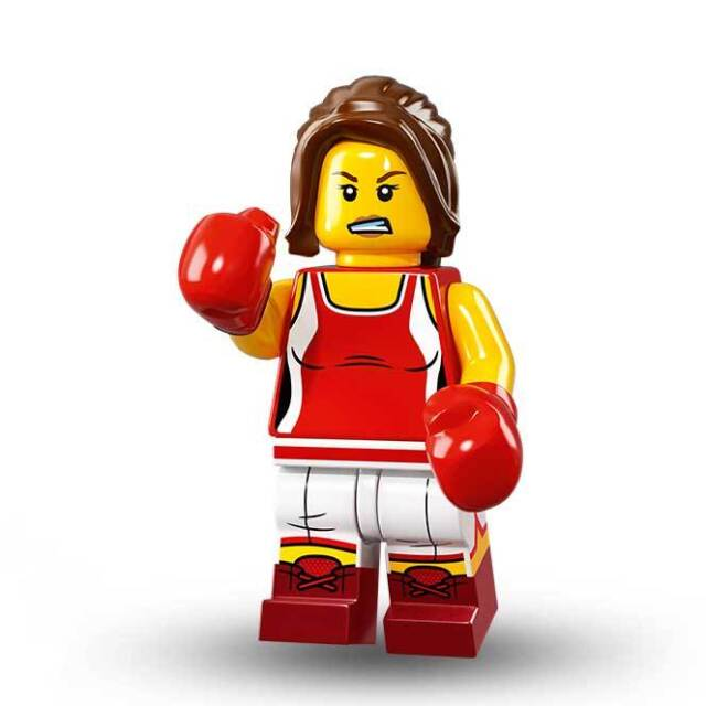 Kick Boxer Lego 71013 Minifugres Series 16 Number 8 With All Parts ...