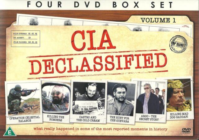 CIA DECLASSIFIED 4 DVD BOX SET - TRUE STORIES OF THE CIA'S MAJOR OPERATIONS