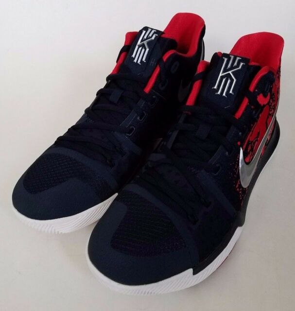 Nike Kyrie 3 Samurai Christmas Mystery Release Basketball Shoes NEW MENS  Size 10