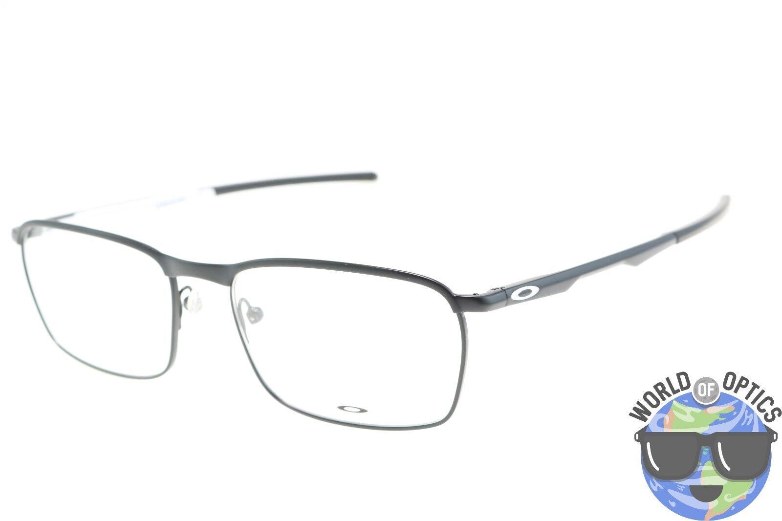 Oakley Conductor Satin Black/ White Eyeglass Frames Ox3186-0554 137 ...