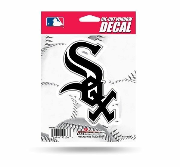 Chicago white sox 5 vinyl die cut decal sticker emblem mlb baseball ebay