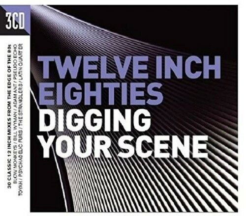 Twelve Inch 80s: Digging Your Scene - 3 DISC SET - Twelve Inch 80 (2016, CD NEW)