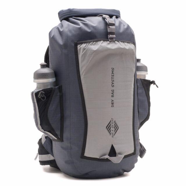 Aqua Quest Sport 25 - 100 Waterproof Dry Bag Backpack - 25l Gray ...