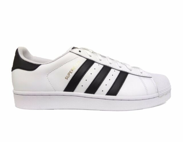 Adidas Men's ORIGINALS SUPERSTAR Casual Shoes White/Black C77124 b