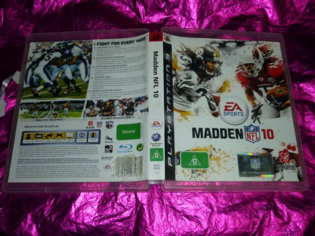 MADDEN NFL 10 : (PS3 GAME, G) (NO BOOKLET)