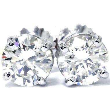 Pompeii3 Women's 1/2 Carat Diamond 14K Stud Earrings