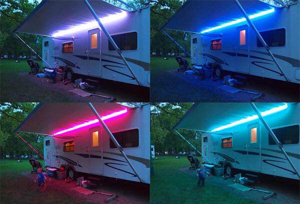 Rgb Colour Change Led Light 12v Dc Caravan Motorhome