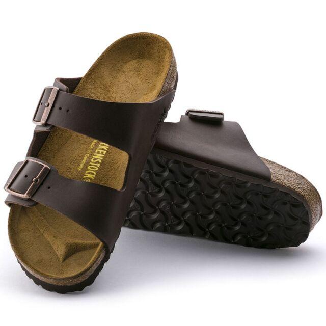 078c13e16a165 Birkenstock Arizona Sandali Sottile Marrone Sandali Pantofole Scarpe 051703  - duradrusti.org
