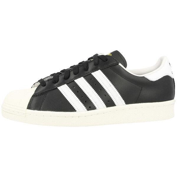 ADIDAS Superstar 80s Scarpe Sneaker Retr BLACK WHITE g61069 Samba Speciale