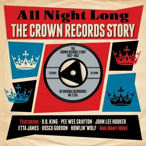 Various Artists - Crown Records Story 57-62 / Various [New CD] UK - Import