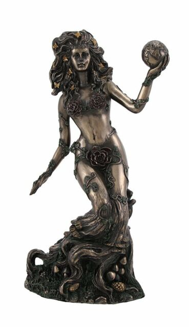 Earth mother nature goddess gaia greek mythology titan terra figurine statue