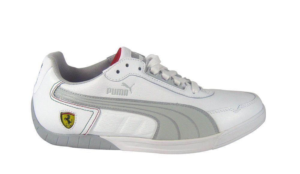 Puma 3.0 3.0 Puma Lo SF Ferrari Blanco/Gris violet/Plata Sneaker/Zapatos weiß 8957a5