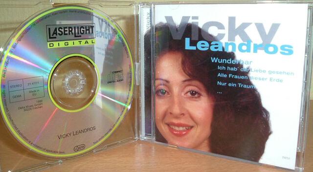 """VICKY LEANDROS    -  Wunderbar   ( """"Ich hab die Liebe geseh`n """" uva)"""
