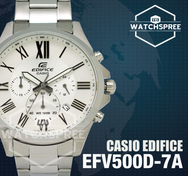 Casio Edifice Chronograph Watch EFV500D-7A