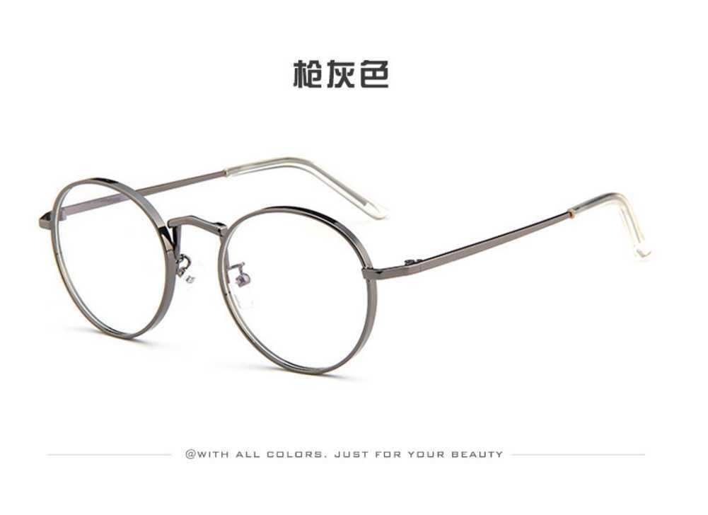 Eyeglasses Frame Men Glasses Japan Women Vintage Round Korean High ...