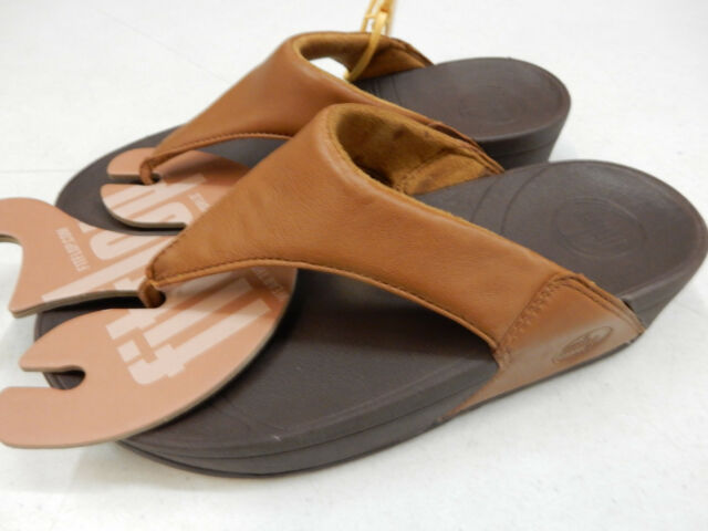 FITFLOP WOMENS SANDALS LULU TOFFEE TAN SIZE 9