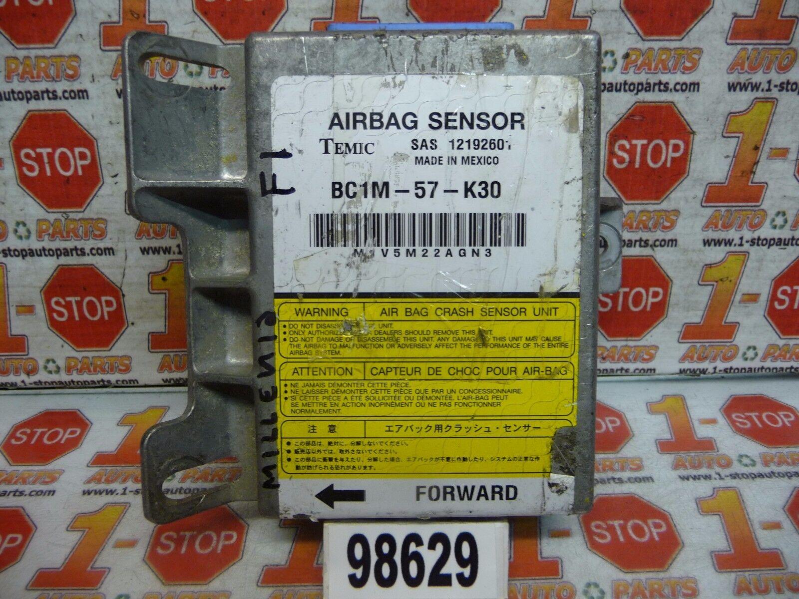 95 96 97 98 Mazda Millenia Srs Control Module Bc1m 57 K30 1219260 Fuse Box Picture 1 Of 6