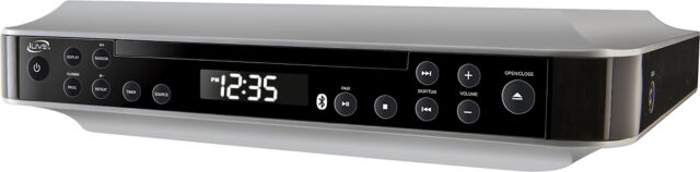 Ilive Ikbc384s Bluetooth Under The Cabinet Fm Radio With