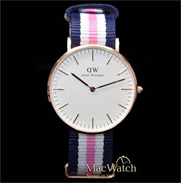 Daniel Wellington Damen Uhr Southampton 0506DW Nylon, Neu, OVP