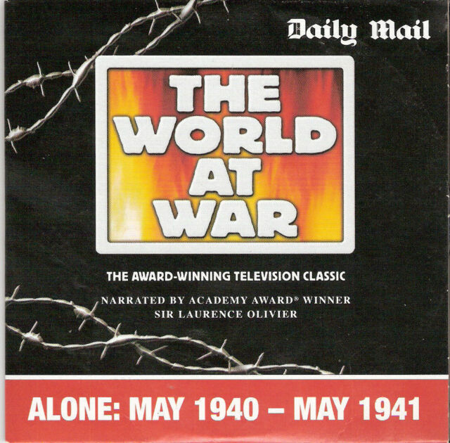 THE WORLD AT WAR EPISODE - ALONE - DAILY MAIL PROMO DVD