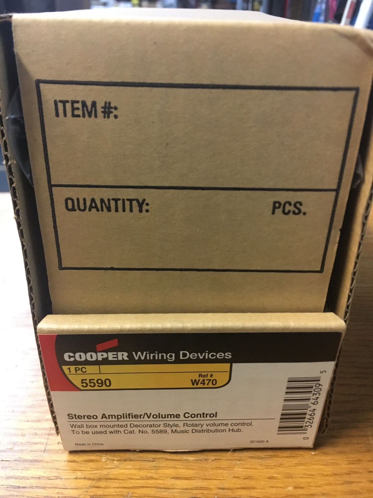 cooper wiring devices 5590 stereo amplifier volume control see pics rh ebay com Cooper Wiring Devices USB Cooper Wiring Devices Wall Plate