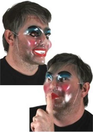 Face Mask: Transparent Female with Make Up