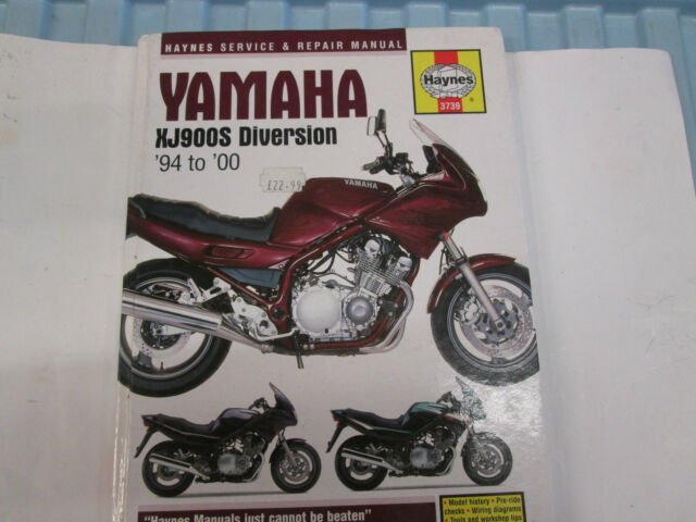 yamaha xj900s diversion haynes workshop manual ebay rh ebay co uk yamaha xj900 diversion repair manual Yamaha XJ 900