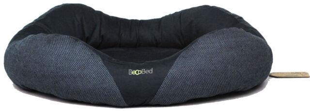 Beco Things ECO BED Öko Hundebett blau, braun