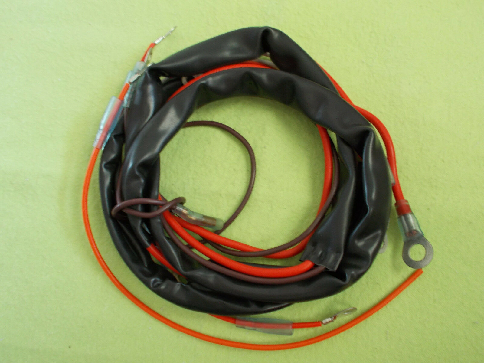 ih farmall 12 volt wiring harness single 1 wire alternator h 300 350 rh ebay com 12 volt wiring harness 1949 ford f1 12 volt wiring harness for 1953 chevy pickup
