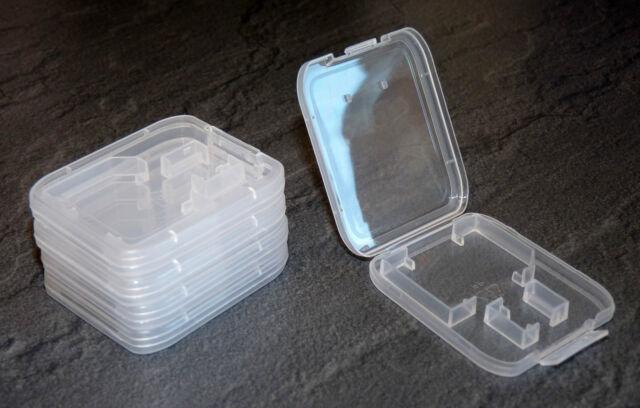 5 Stück SD + MICRO SD Box Speicherkarte SDHC ETUI Schutzhülle Hülle Case Hüllen