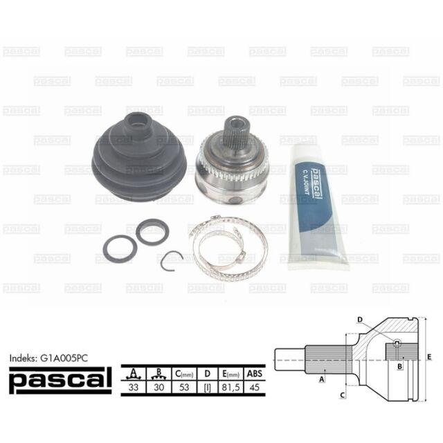 Gelenksatz, Antriebswelle PASCAL G1A005PC