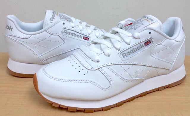 Reebok Classic Skinn White Gum Kvinners 49801 Aeigk