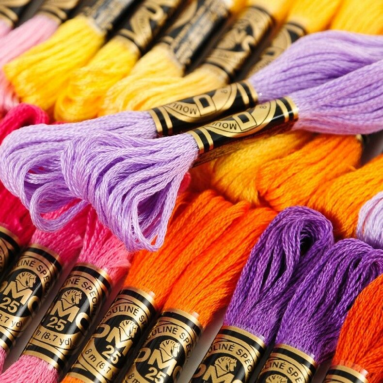 220 Dmc Embroidery Floss Pick Your Own Colors Ebay