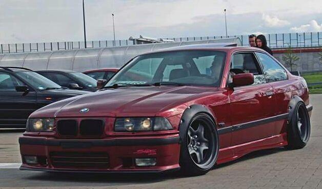 BMW E Drift Fender Flares Wheel Arches Great LOOK EBay - Bmw 3 wheel car