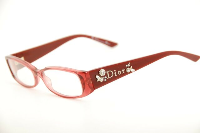Authentic Christian Dior 3156 TSO Cyclamen 52mm Frames Italy ...