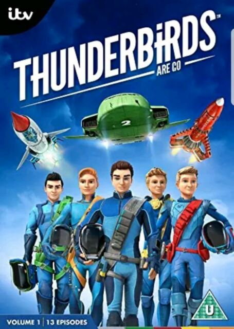 THUNDERBIRDS ARE GO: VOLUME 1 - 13 EPISODES OF THE ITV SERIES - NEW