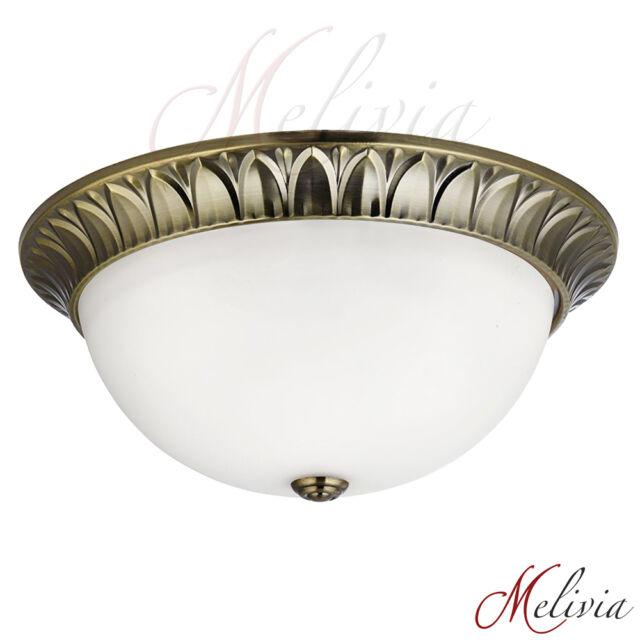 Ceiling Light ø38 Brass Gold White Glass Ceiling Light Lamp Light Hanging Lamp