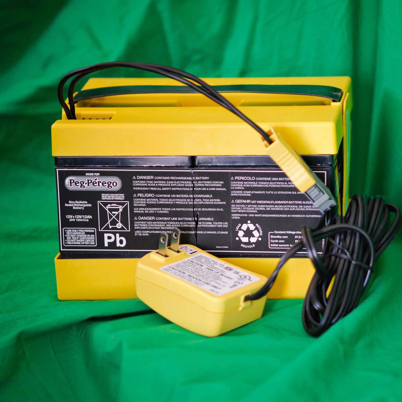 Peg perego 24 volt battery super power part iakb0522 24v ebay picture 1 of 5 publicscrutiny Images