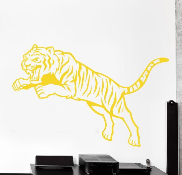 Wall Vinyl Decal Tiger Animal Jungle Africa Cool Decor Z3860 XL 45 ...