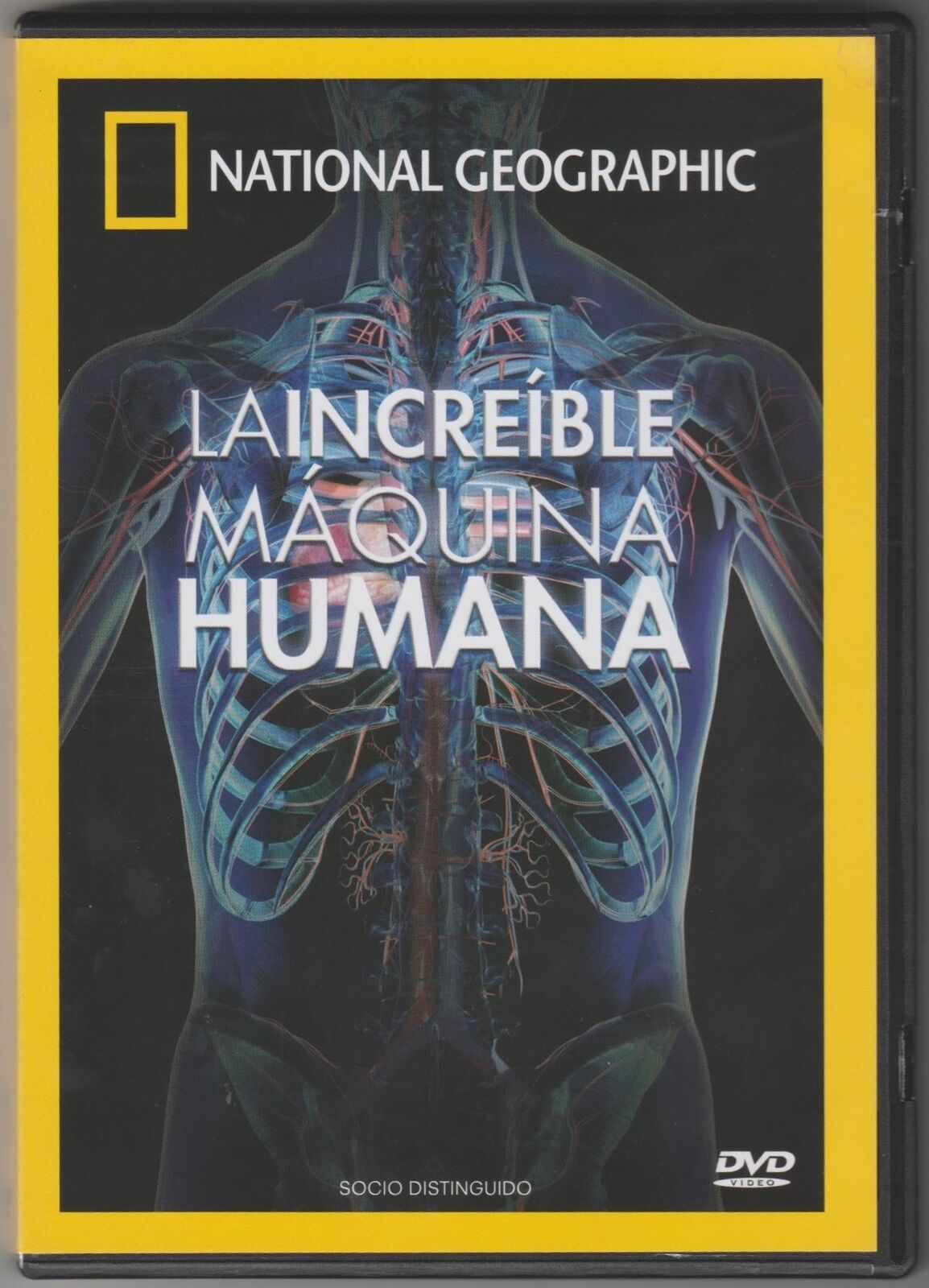 La Increible Maquina Humana Dvd Disc Documentary National Geographic
