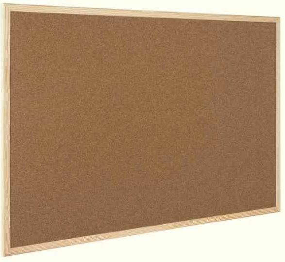 600 x 400mm Cork Message Pin Board Pine Wooden Framed Noticeboard Pinboard