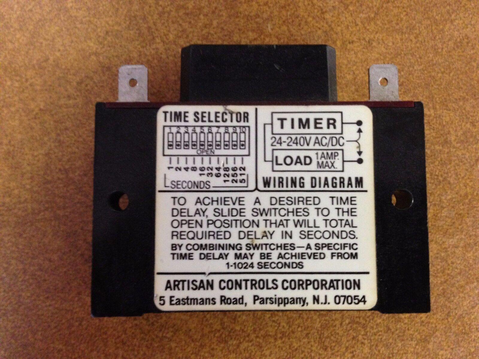 Fci Tds 438 Time Delay Switch Ebay Wiring Diagram
