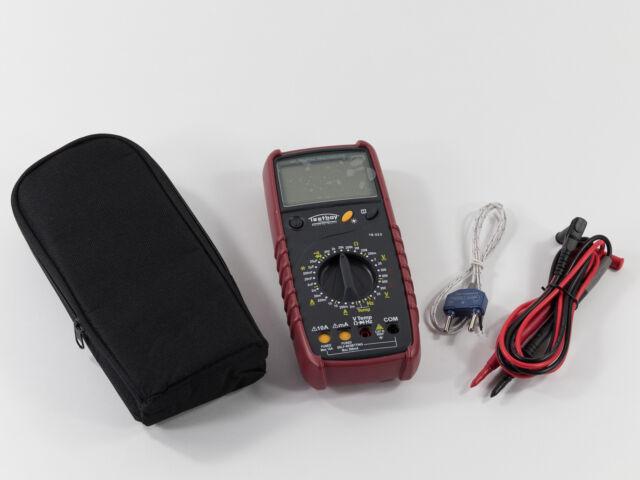 Testboy TB 313 Digital-Multimeter Messgerät Elektronik Strom Prüfer Elektrik Neu