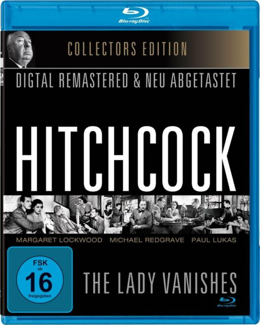 The Lady Vanishes - Hitchcock (Collector's Edition) [FSK16] (Blu-ray) NEU+OVP