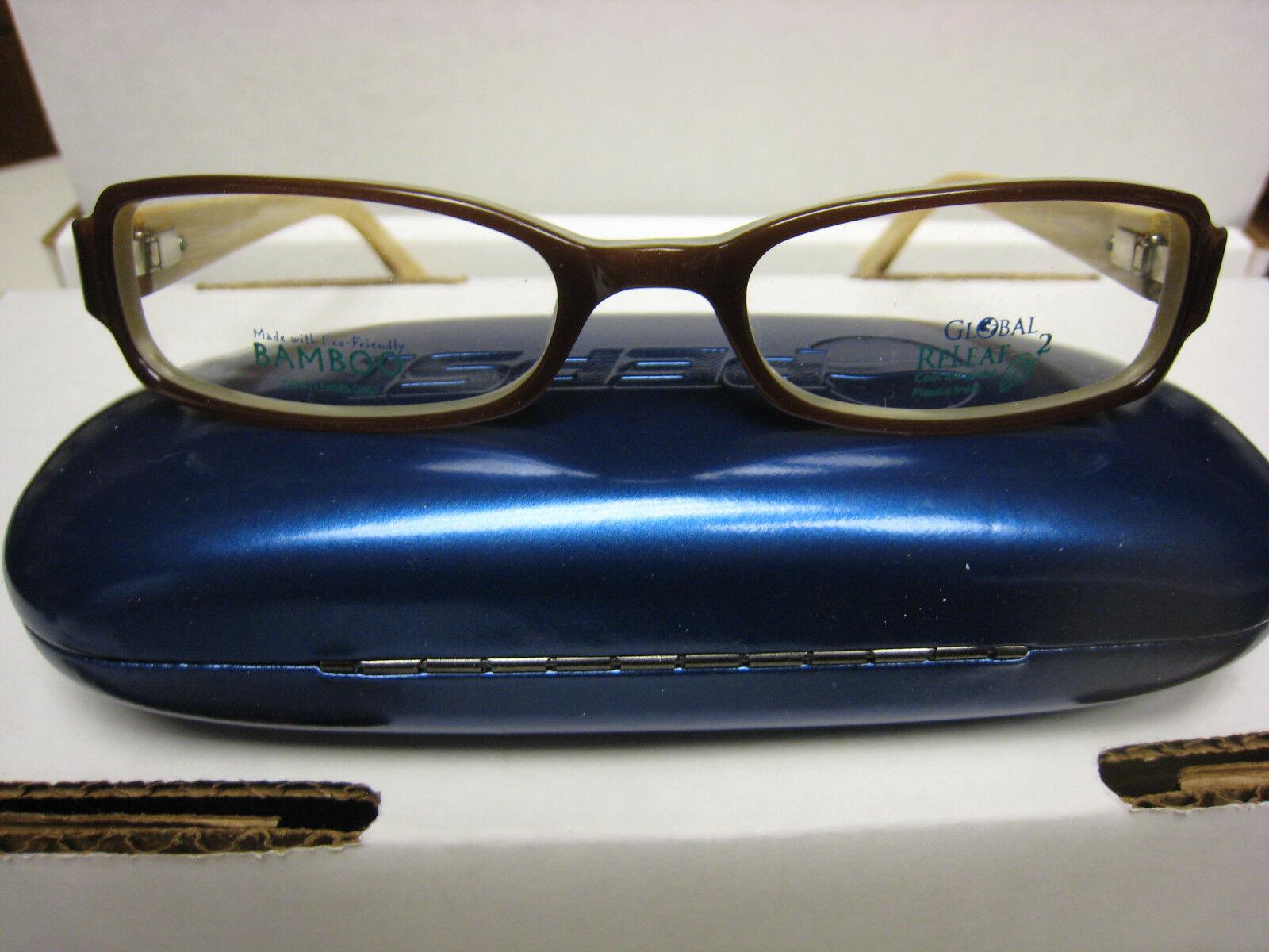 Global Releaf Eyeglass Frames Style Fernleaf Brown 52-18-135 Bamboo ...