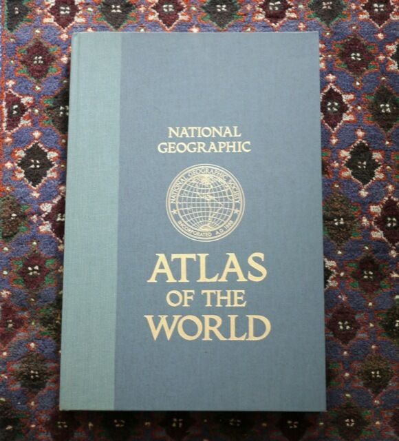 Vintage 1981 national geographic map of the world f ebay gumiabroncs Choice Image