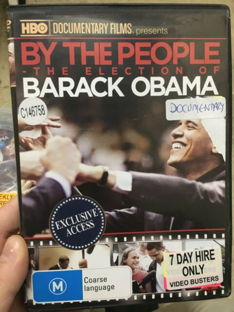 By The People - The Election Of Barack Obama ex-rental region 4 DVD (documentary