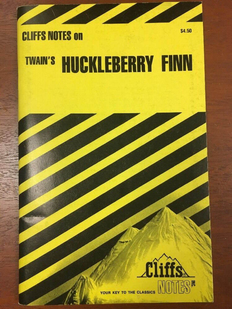 The Adventures of Huckleberry Finn by Cliffs Notes Staff (1963 ...