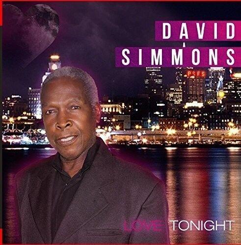 David Simmons - Love Tonight [New CD] Manufactured On Demand
